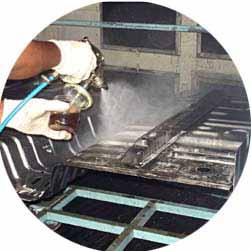 某钣金加工公司使用CORTEC VPCI-377水性防锈液对产品防锈