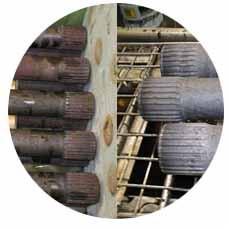 上海某汽车配件生产公司产品除锈使用VPCI-422除锈剂
