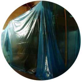 天津某大型机械制造厂产品出口防锈使用cortec VPCI-126防锈膜