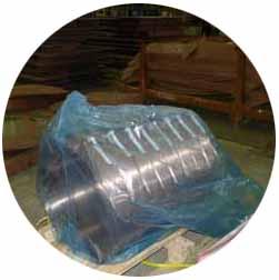 某造船厂配件防锈使用CORTEC VPCI-126防锈膜