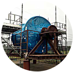 CORTEC VPCI-132和VPCI-126热缩膜对涡轮机室外防锈效果优异